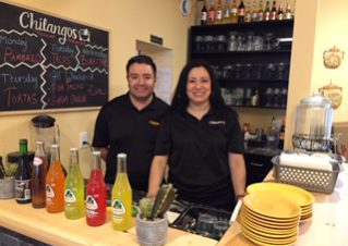 Marlem and Abraham Ramos, co-owners of Chilangos Mexican Restaurant.